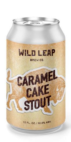 Caramel Cake Stout, Wild Leap Brew Co.