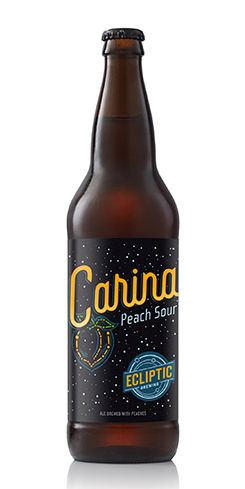 Carina Peach Sour Ale by Ecliptic Brewing