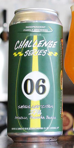 Challenge Series #06 Smells Like Citrus, Bear Republic Brewing Co.