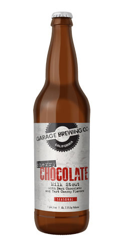 Cherry Chocolate Milk Stout by Garage Brewing Co.