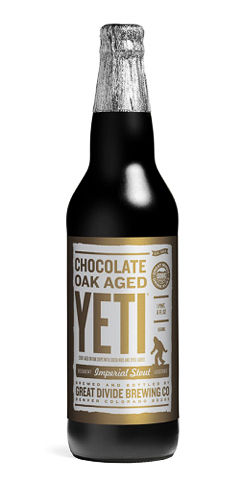 Chocolate Oak Aged Yeti Great Divide Beer