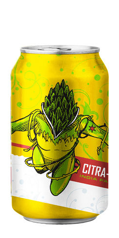 Revolution Brewing Citra Hero beer can