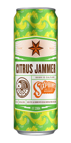 Citrus Jammer, Sixpoint Brewery