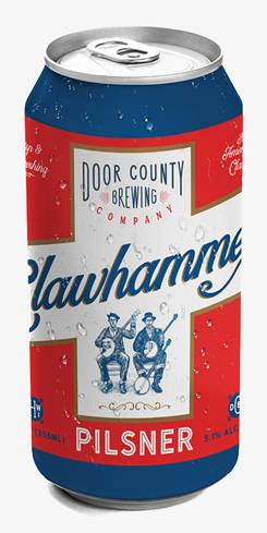 Clawhammer Pilsner, Door County Brewing Co.