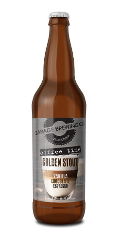Coffee Time Golden Stout, Garage Brewing Co.