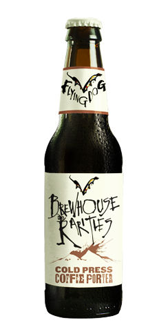 Flying dog brewhouse rarities cold press coffee porter beer
