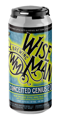 Conceited Genius 2.0, Wise Man Brewing