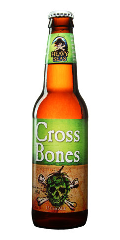 CrossBones Session IPA Heavy Seas Beer