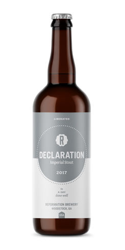Declaration by Reformation Brewery