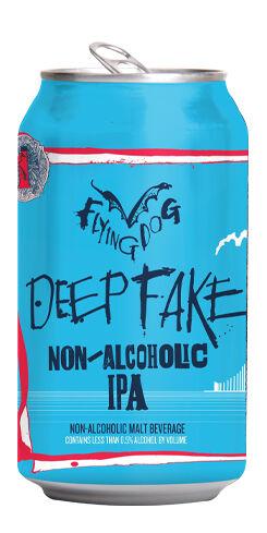 Deepfake Non-Alcoholic IPA, Flying Dog Brewery