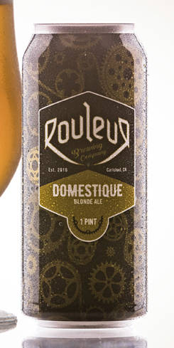 Domestique Blonde Ale, Rouleur Brewing Co.