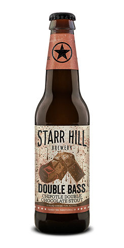 Double Bass Chipotle Double Chocolate Stout Starr Hill Brewery