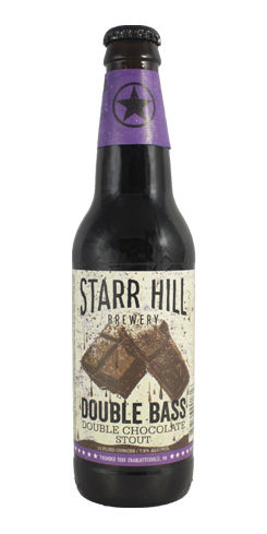 Double Bass Double Chocolate Stout by Starr Hill Brewery