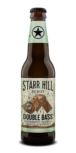 Double Bass Peppermint Double Chocolate Stout Starr Hill Brewery