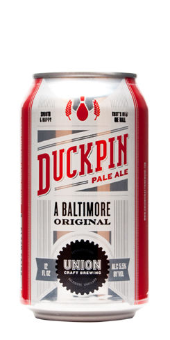 Duckpin Pale Ale Union Craft Beer