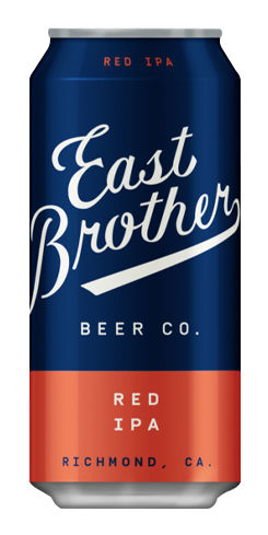 East Brother Red IPA, East Brother Beer Co.