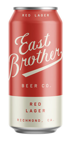 Red Lager, East Brother Beer Co.