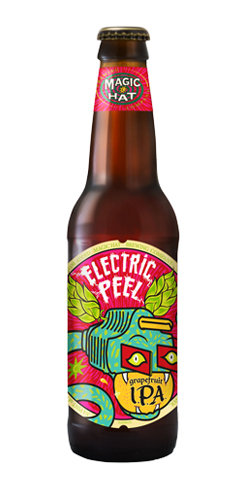 Magic Hat Electric Peel IPA Beer