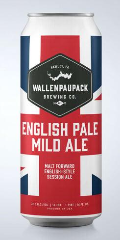 English Pale Mild Ale, Wallenpaupack Brewing Co.