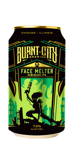 Burnt City Beer Face Melter IPA