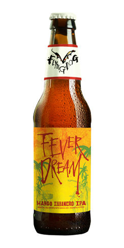 Fever Dream Flying Dog Mango habanero IPA beer