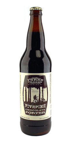 Fivepine Chocolate Porter 3 creeks beer