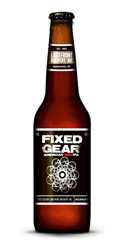 Fixed Gear Lakefront Red IPA Beer