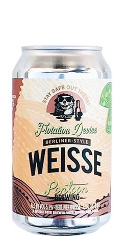 Flotation Device Berliner Weisse by Pontoon Brewing