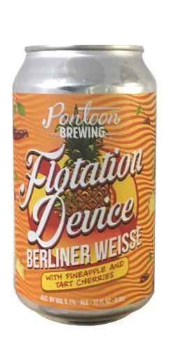 Flotation Device / Tart Cherry Pineapple, Pontoon Brewing
