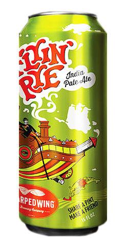 flyin' rye ipa beer warped wing
