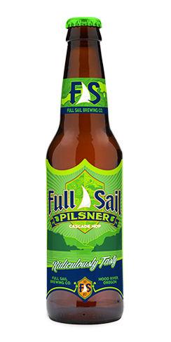 Full Sail Pilsner beer
