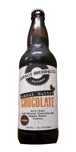 Garage Chocolate Peanut Butter Milk Stout, Garage Brewing Co.