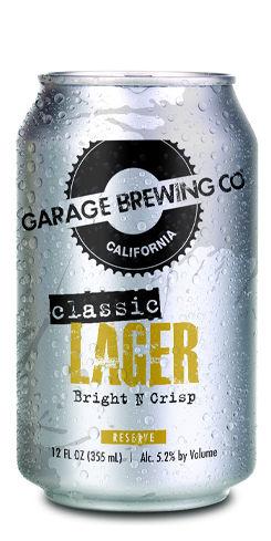 Garage Classic Lager, Garage Brewing Co.