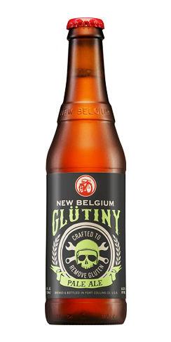 glutiny pale ale new belgium beer