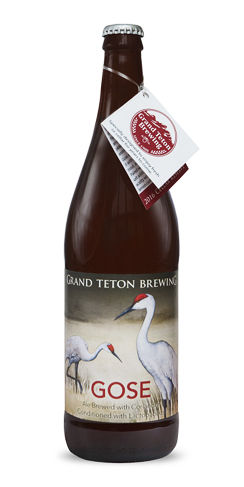 Grand Teton Gose Beer