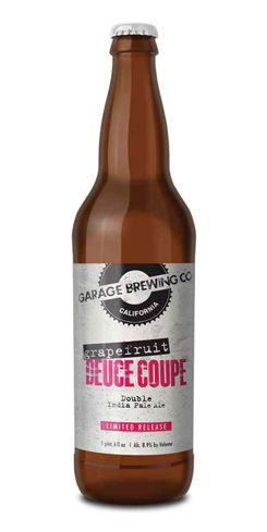 Grapefruit Deuce Coupe DIPA, Garage Brewing Co.