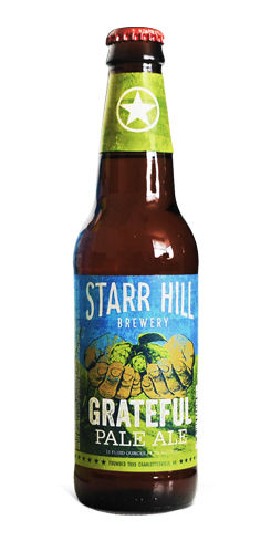 Grateful Pale Ale by Starr Hill Brewery