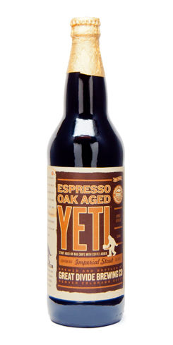 Espresso Oak Aged Yeti Great Divide Beer
