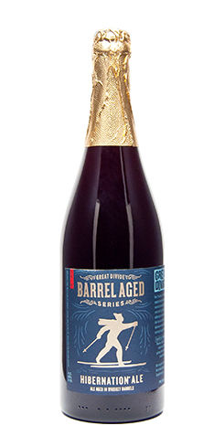 Great Divide Barrel Aged Hibernation beer