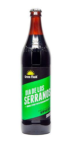 Green Flash Dia de los Serranos beer