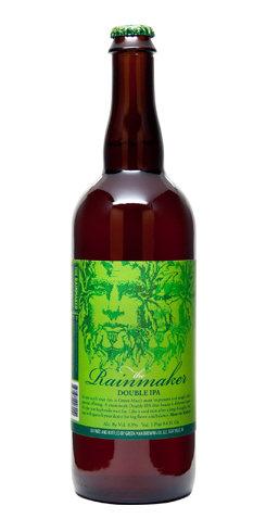 Rainmaker Double IPA Beer Green Man