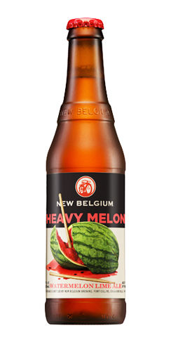 New Belgium Beer Heavy Melon