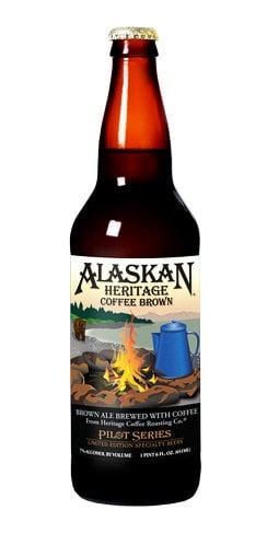 Alaskan Beer Heritage Coffee Brown