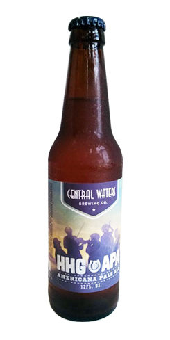 HHG APA by Central Waters Brewing Co.