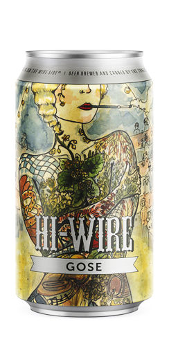 Hi-Wire Brewing Gose beer