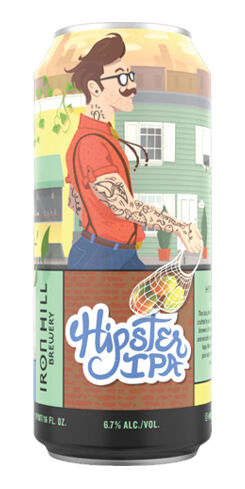 Hipster IPA, Iron Hill Brewery