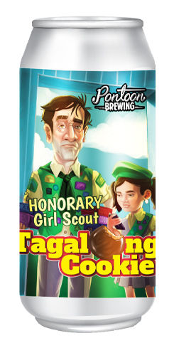 Honorary Girl Scout / Tagalong Cookie, Pontoon Brewing