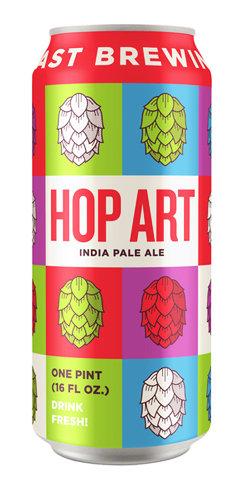 Coast Brewing Hop Art Beer
