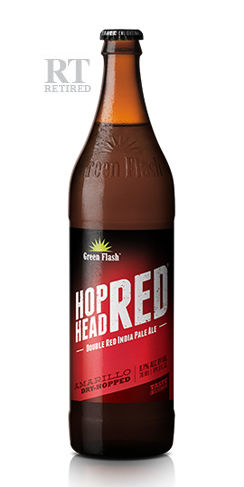 Hop Head Red Green Flash beer retired