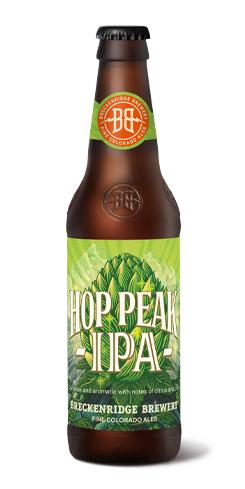 Hop Peak IPA, Breckenridge Brewery